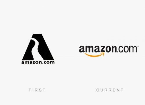 Логотипы известных брендов тогда и сейчас (31 фото)