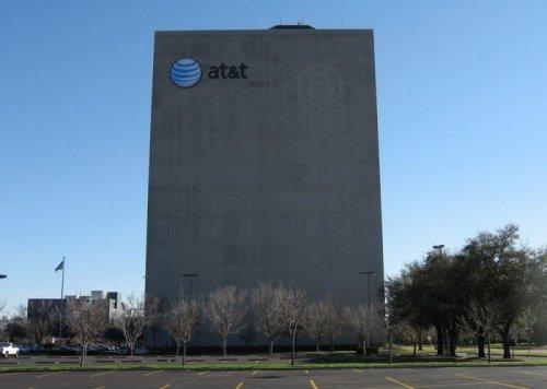 Здание-крепость корпорации AT&T (6 фото)