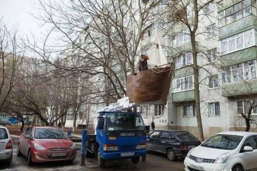 А в России в это время… (16 фото)