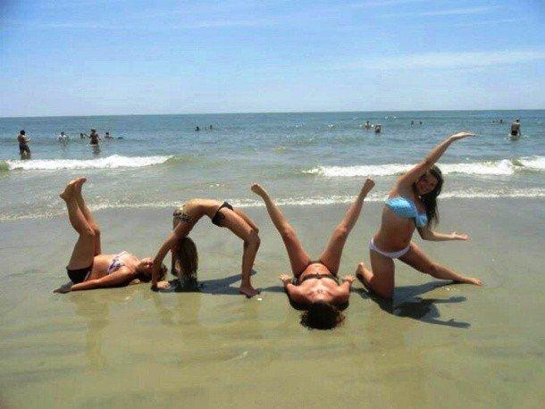приколы фото пляжные