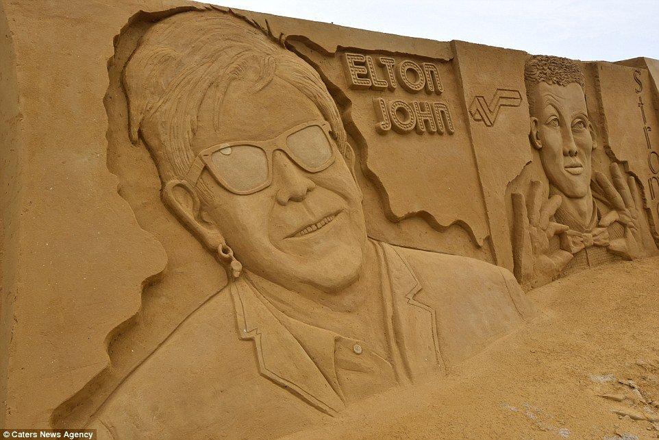 Фестиваль песчаных скульптур в Остенде (15 фото)