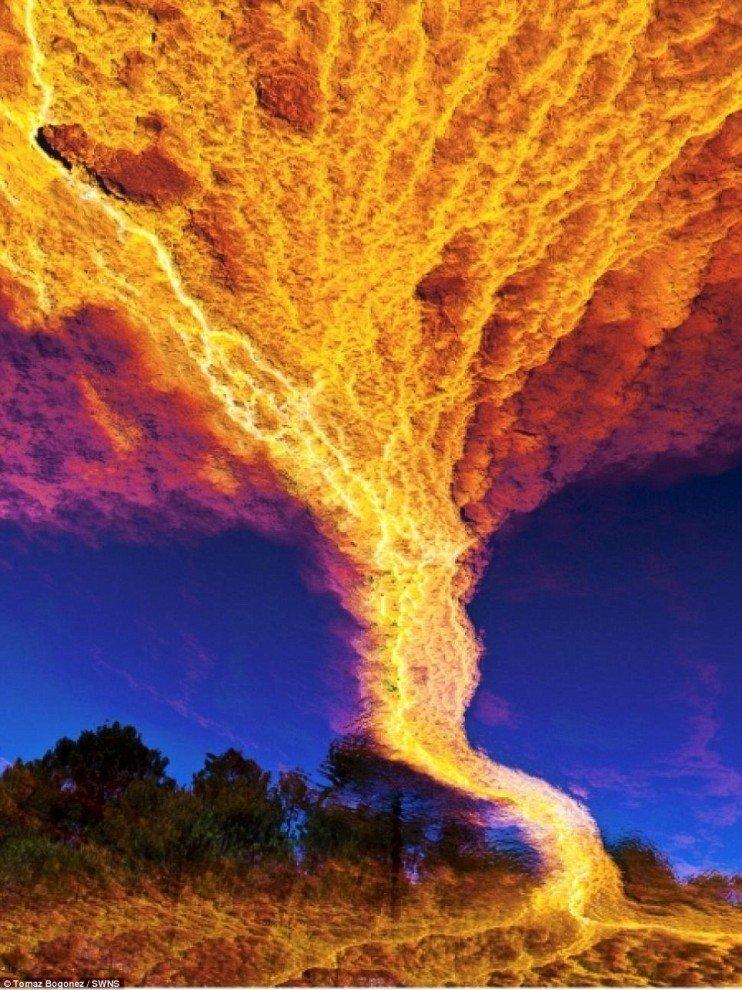 Необычный огонь картинки