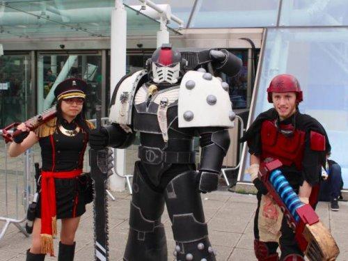 Косплей на Лондонском Comic Con-2016 (26 фото)