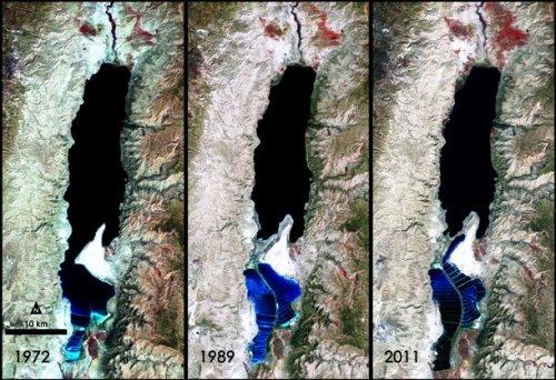 """Топ-25: Впечатляющие фотографии """"до и после"""", демонстрирующие изменения окружающей среды, которые должен увидеть каждый"""