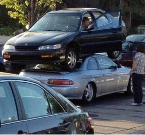 Сумасшедшие водители (19 фото)