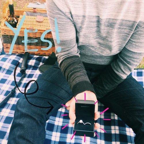 Как объявить о помолвке: креативные способы (30 фото)