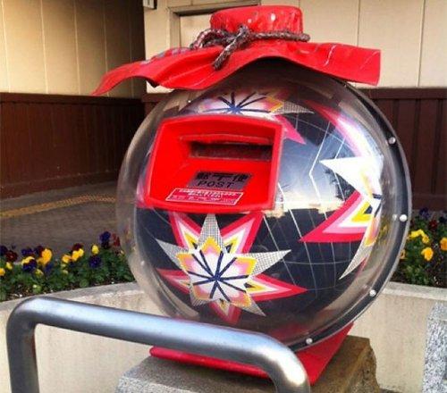 Японские почтовые ящики (15 фото)