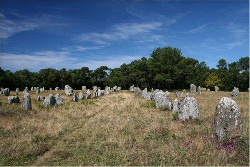 Карнакские каменные аллеи в Бретани (11 фото)