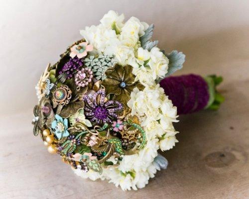 Необычные свадебные букеты (11 фото)