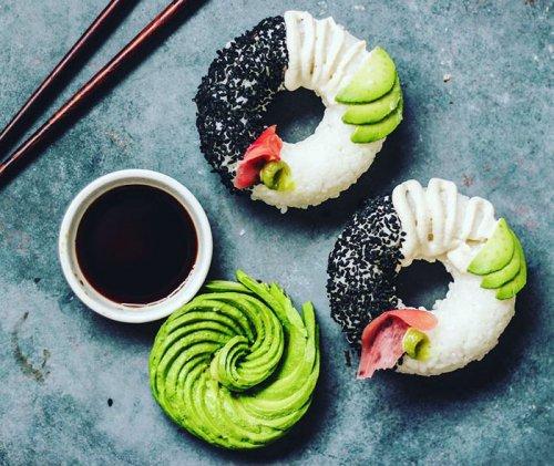 Суши-пончики, которые скоро станут всемирным трендом! (5 фото)