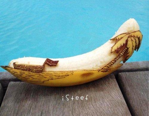Забавные бананы Стефана Брюш (16 фото)