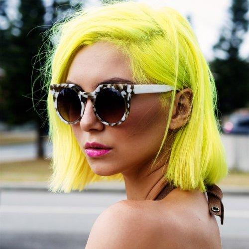 Разноцветные волосы — модный тренд этого лета (21 фото)