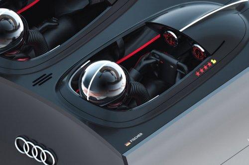 Футуристический концепт-грузовик Audi (17 фото)