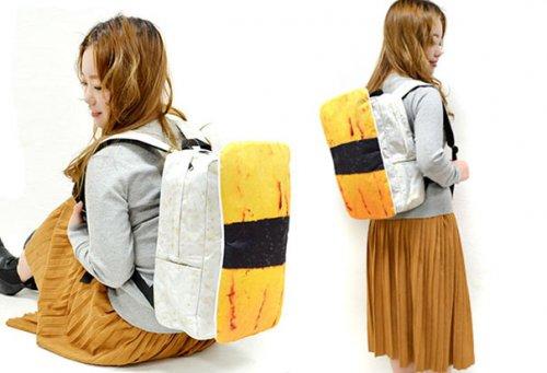 Рюкзаки в виде японских суши (6 фото)