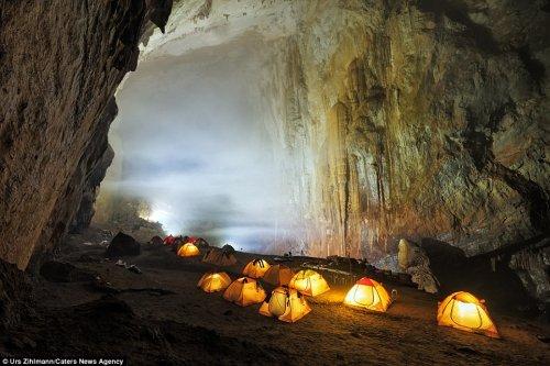 Гигантская пещера Шондонг в фотографиях Урса Цильманна (8 фото)