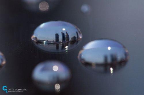 Популярные достопримечательности в каплях дождя глазами Душана Стоянчевича (13 фото)