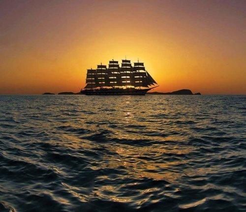 "Круизное парусное судно ""Royal Clipper"" (18 фото)"