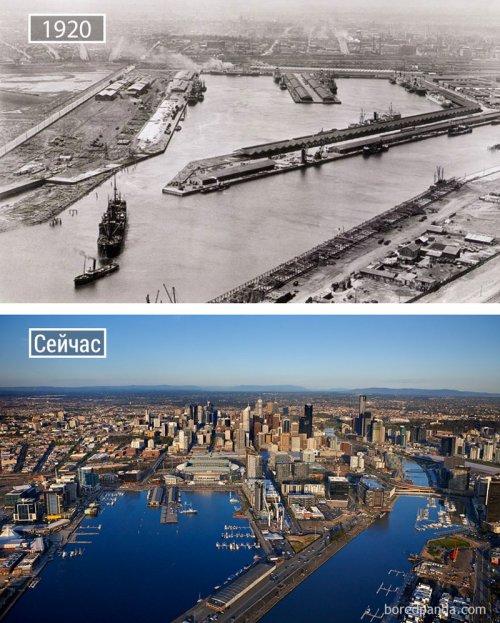 Города мира тогда и сейчас (24 фото)