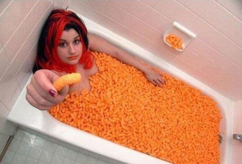 Чем ещё можно наполнить ванну (23 фото)