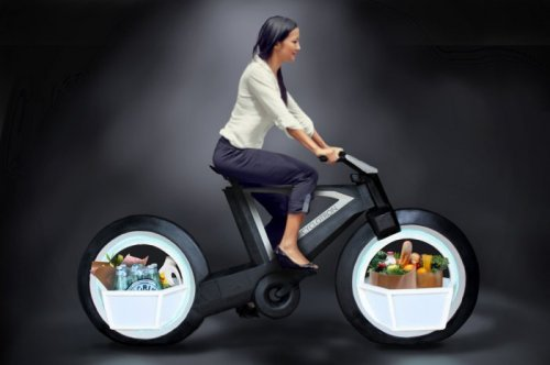 "Концепт безосевого ""умного"" велосипеда Cyclotron (4 фото)"
