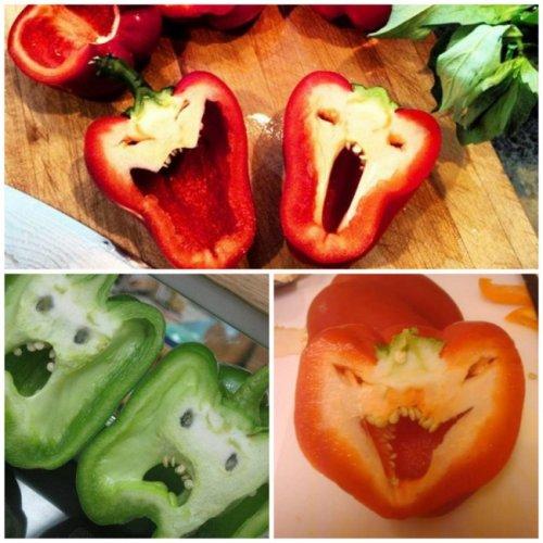 Еда и продукты, которые заставят вас улыбнуться (15 фото)