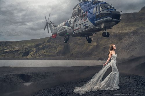За кулисами свадебной фотографии, ставшей одной из лучших (фото + видео)