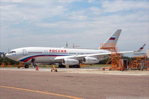 Новый Ил-96 для Управделами президента РФ (6 фото)