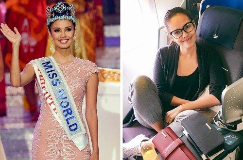 Победительницы конкурсов красоты в обычной жизни (13 фото)