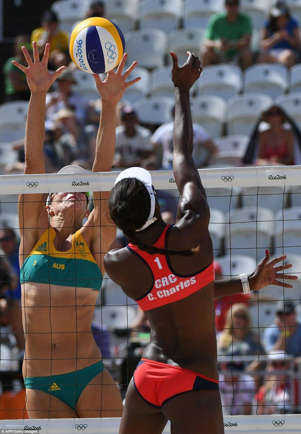 Фото олимпиады пляжный волейбол