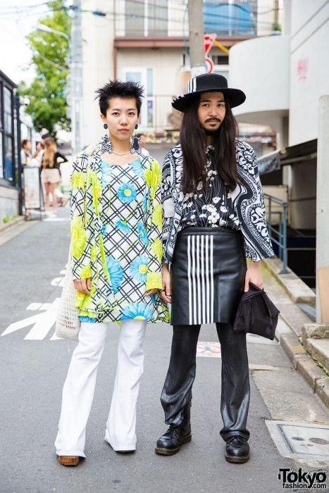 Токийские модники и фрики (27 фото)
