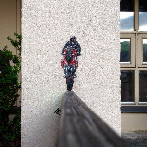 Стрит-арт работы уличного художника JPS (25 фото)