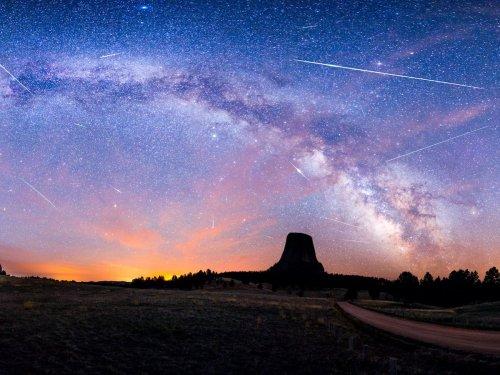 Когда и какие звездопады можно увидеть в ночном небе (13 фото)