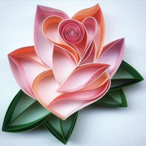 Новые бумажные шедевры от Сены Руны (14 фото)