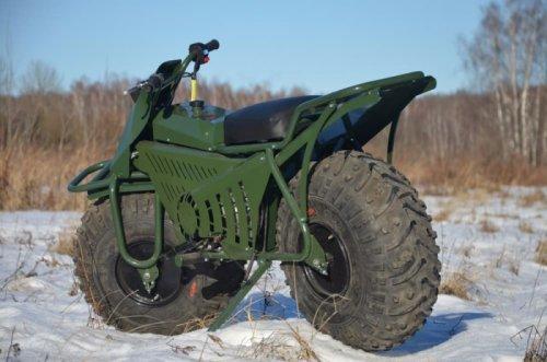 Мотовездеход Taurus 2х2 российского производства (5 фото + видео)