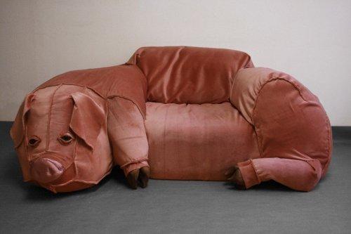 Странные и необычные диваны (18 фото)