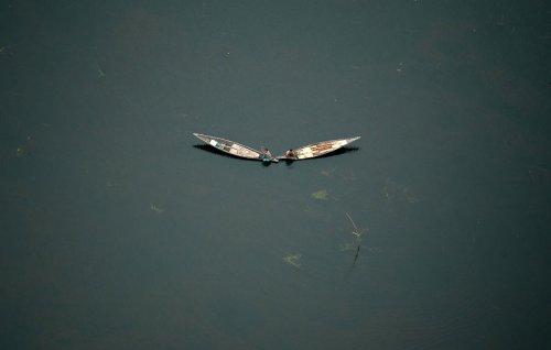Бангладеш с высоты птичьего полёта в фотографиях лётчика Шамима Шорифа Сусома (12 фото)