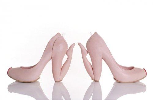 Дизайнерская женская обувь, которая поразит ваше воображение (23 фото)