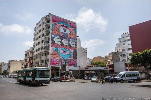 Стрит-арт Касабланки (11 фото)