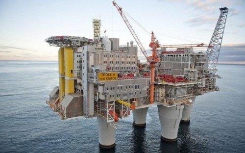 "Нефтяная платформа ""Тролль-А"" в Норвегии (4 фото)"