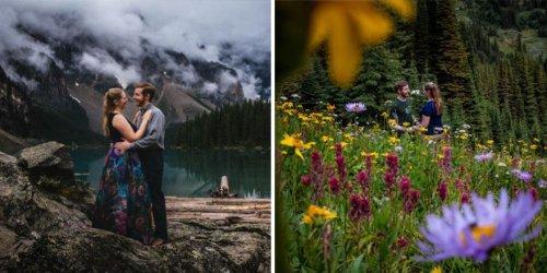 Белка зафотобомбила романтическую фотографию (3 фото)