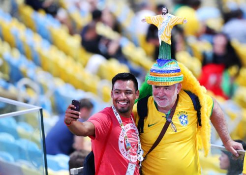 Болельщики на Олимпиаде в Рио (18 фото)