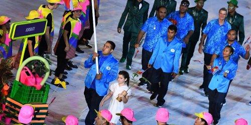 Давид Катоатау: Самый зажигательно танцующий спортсмен на Играх в Рио (2 фото + 4 видео)