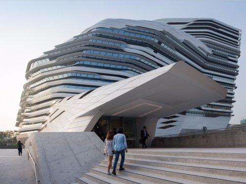 Потрясающие архитектурные шедевры (23 фото)