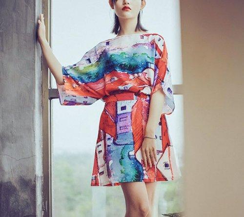 Одежда с шедеврами мировой живописи (24 фото)
