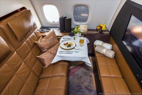 Airbus A380 авиакомпании Etihad Airways для самого роскошного авиаперелёта (18 фото)