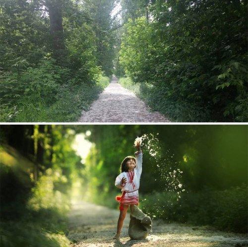 Разница между фотографиями, сделанными обычными людьми и профессионалами (4 фото)