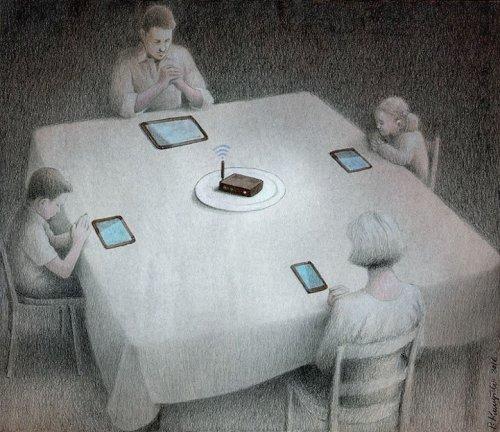 Новые сатирические иллюстрации Павла Кучински (16 фото)