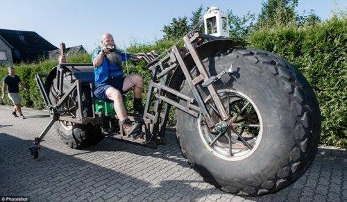 В Германии построили велосипед-тяжеловес (8 фото + видео)