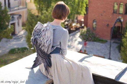 Окрыляющие рюкзаки от Ольги Котовой (7 фото)