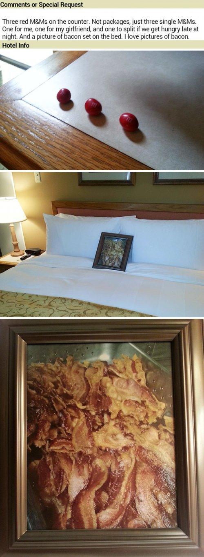 Как троллят персонал отелей нелепыми просьбами (17 фото)